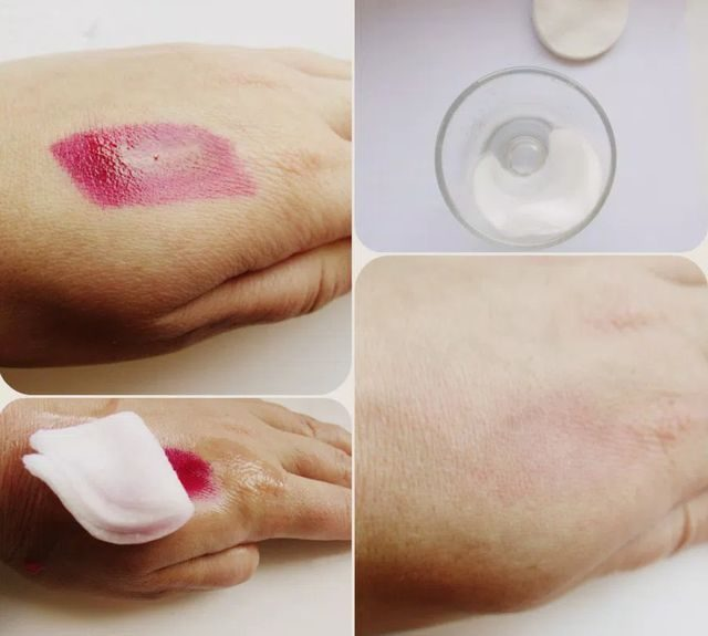 Смыть фукорцин с кожи