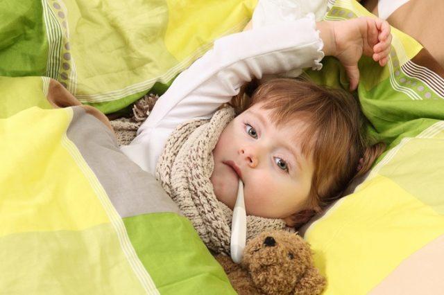 Ребенок с ОРЗ