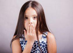 У ребенка пахнет изо рта