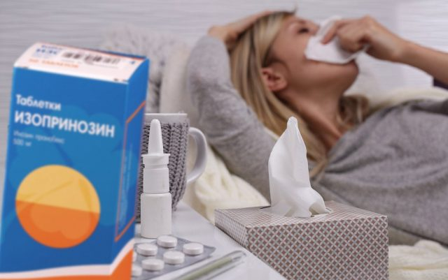 Изопринозин против гриппа