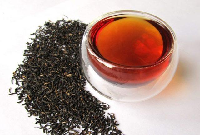 Заварка черного чая для промывания